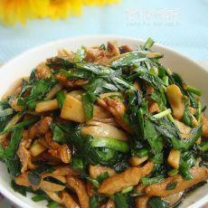 韭菜杏鲍菇小炒