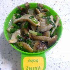 蘑菇韭菜炖粉条的做法