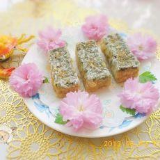 豆浆鸡蛋海苔酥的做法