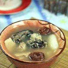 海底椰响螺乌鸡汤的做法