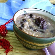 黑豆小麦粥