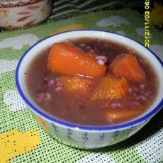 木瓜南瓜紫米粥