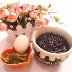 红豆紫米粥