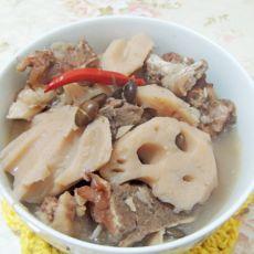 筒骨黑豆莲藕汤