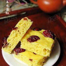 玉米蒸糕的做法