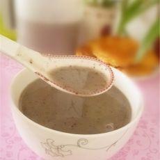 红枣花生黑米糊的做法