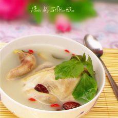 紫苏炖鸡的做法