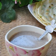 木耳花生红枣营养米糊的做法