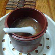 阿胶炖廋肉的做法