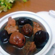 荔枝红枣蒸排骨