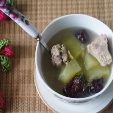 冬瓜红枣排骨汤