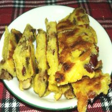 红枣玉米饼