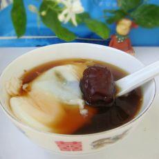 益母草荷包蛋汤