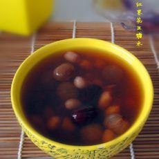 桂圆红枣花生糖水的做法