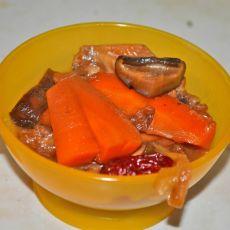 香菇胡萝卜烧鸡翅
