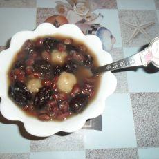 红豆糯米圆子的做法
