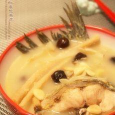 沙参玉竹红枣煲鱼尾的做法