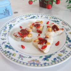红枣花生糯米饭
