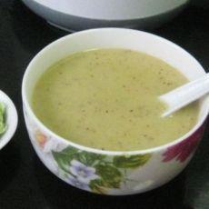 红枣毛豆五谷米糊