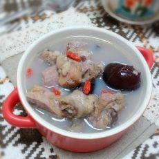 柿饼红枣鸡汤