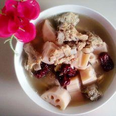 红枣莲藕炖排骨