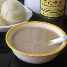银耳红枣黄豆糯米糊