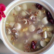 红枣芋儿排骨煲