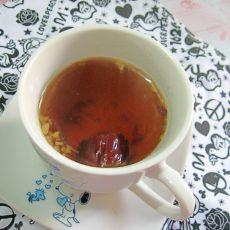 北芪红枣茶的做法