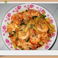 鲜香土豆虾