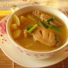 鸡翅土豆汤