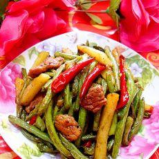 干煸豆角——夏季最给力的干煸菜的做法