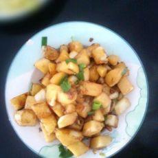 土豆新做法——孜然土豆的做法