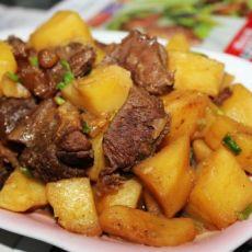 五香土豆焖牛肉