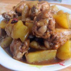 翅根炖土豆