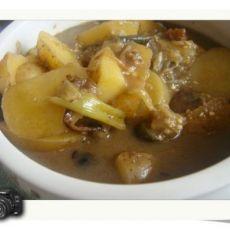 美味土豆炒肉