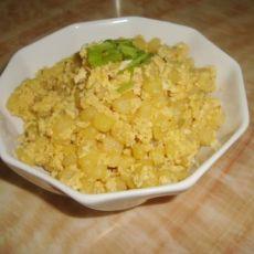 土豆炒鸡蛋