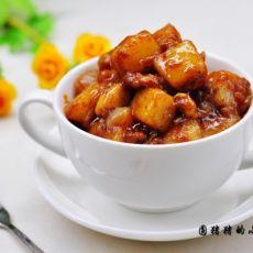 咖喱肉末土豆