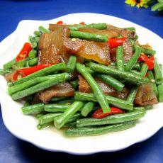 豇豆炒腊肉