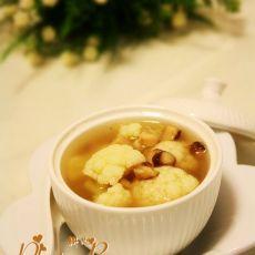 菜花香菇汤