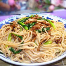 牛肉丝香菇炒米粉