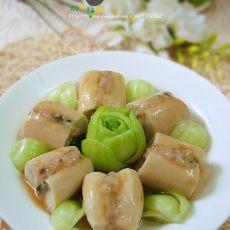 瑶柱鲍汁酿杏鲍菇