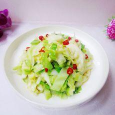 清炒卷心菜的做法