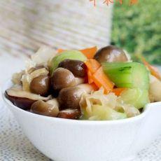 丝瓜炒杂蔬