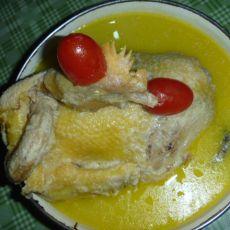 补水养颜豆浆鸡