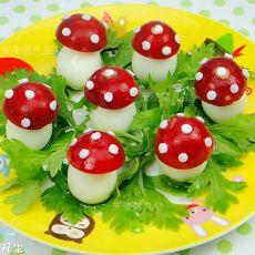 鹌鹑蛋小蘑菇