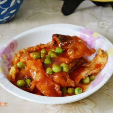 豌豆茄汁草鱼