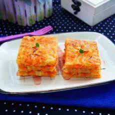 胡萝卜土豆煎饼的做法