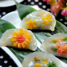 海茸筋韩式蒸饺的做法