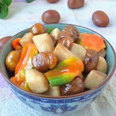 油焖栗子菇的做法