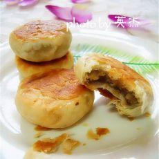 电饼铛版绿豆酥的做法